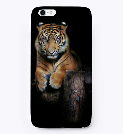 Tiger Print Standard T-Shirt Front