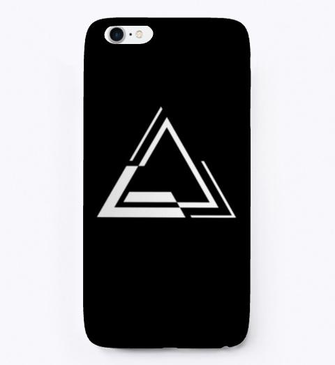 """Alterant """"Delta"""" Symbol I Phone Case Black T-Shirt Front"""