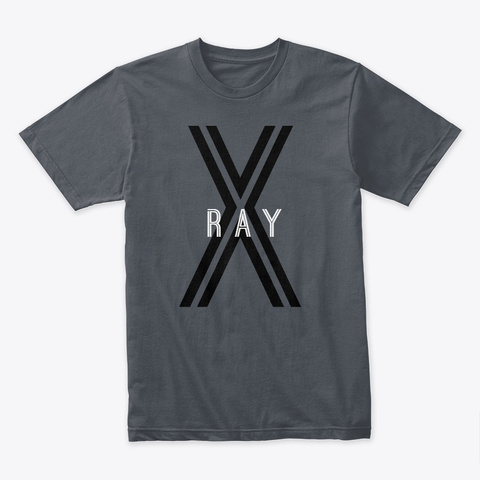X Ray Heavy Metal T-Shirt Front