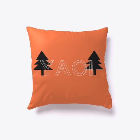 Yaoi Pillow Design Coral T-Shirt Front