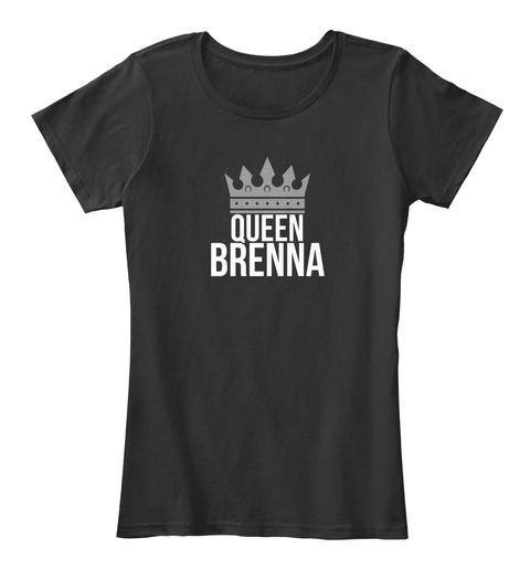 Queen Brenna Black T-Shirt Front