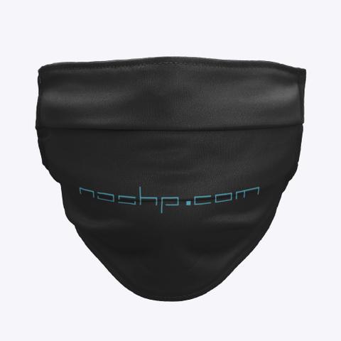 Nashp.Com Mask Black T-Shirt Front