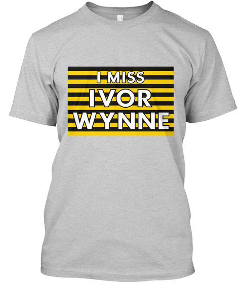 Naming Wrongs: Ivor Wynne (Grey) Light Steel T-Shirt Front