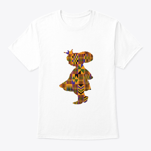 African Princess White T-Shirt Front