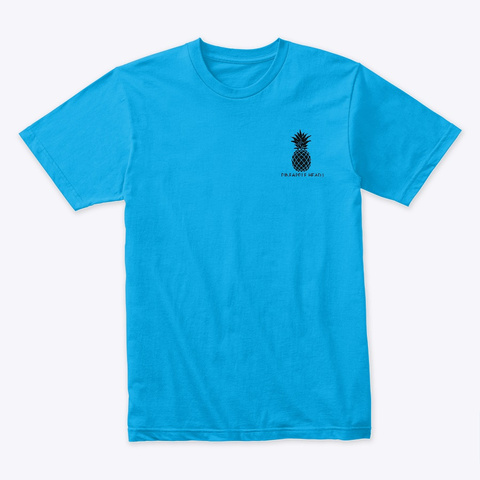 K Drama Queen Turquoise T-Shirt Front