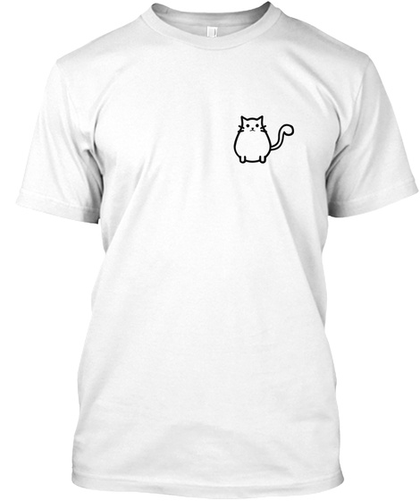 Cats For A Cause White T-Shirt Front