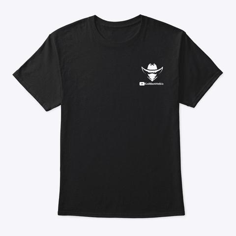 Python Black T-Shirt Front