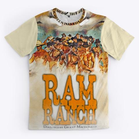 Ram Ranch Light Yellow T-Shirt Front