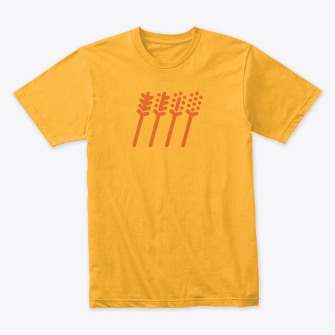 Seasons Gold T-Shirt Front