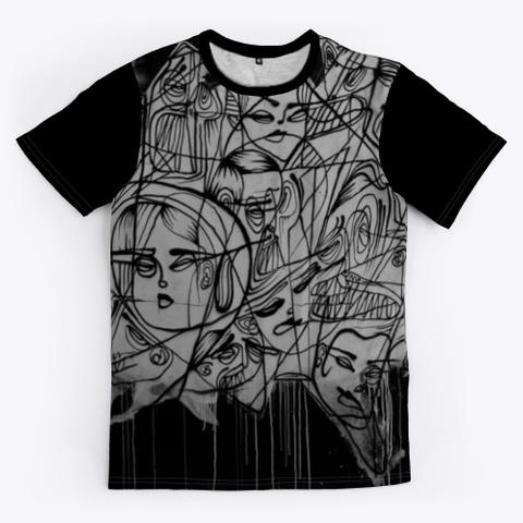 T Shirt: Artistic Team Black T-Shirt Front