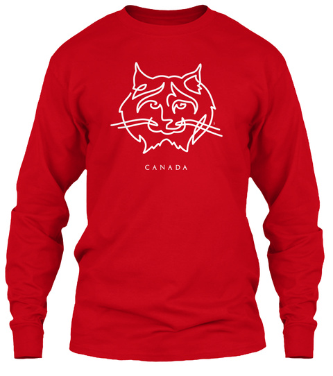 Canada Red T-Shirt Front