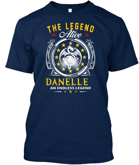 The Legend Alive Danelle An Endless Legend Navy T-Shirt Front