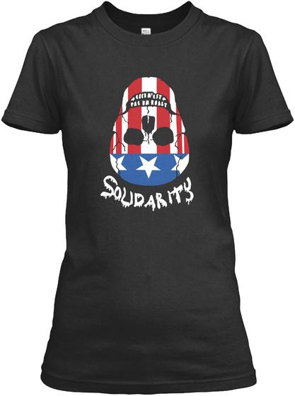 Soudartiy Black T-Shirt Front