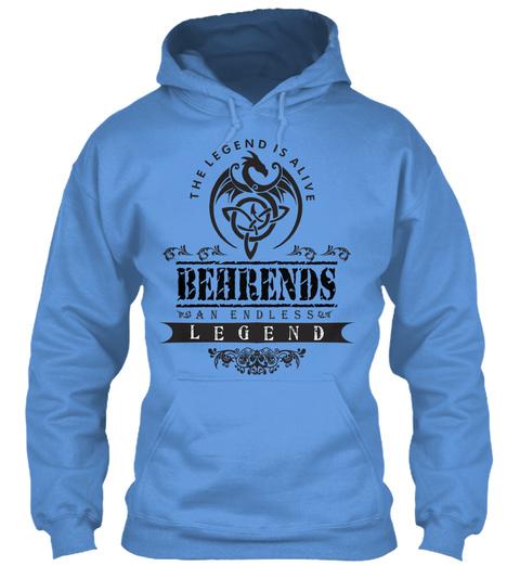 Behrends  Carolina Blue T-Shirt Front
