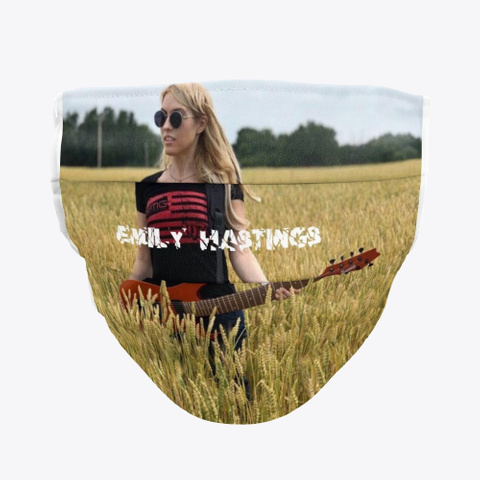 Emily Hastings Guitarist Standard Maglietta Front