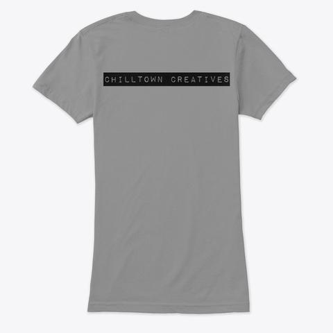 #Chilltown Creatives Premium Heather T-Shirt Back