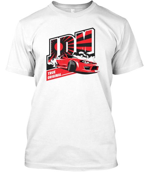 Jrm True Original White T-Shirt Front