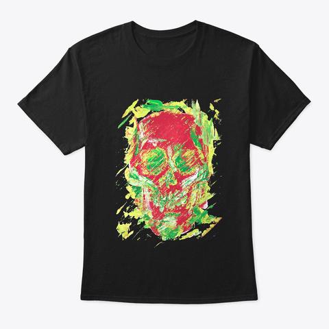 Anger Black T-Shirt Front