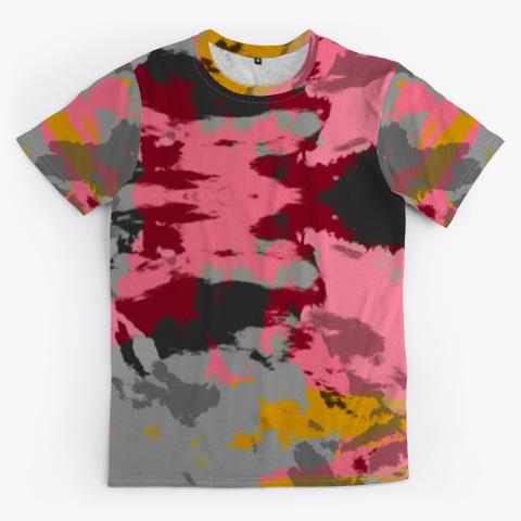 Katsuchiyo   Abstract Batik Mandala Art Standard T-Shirt Front
