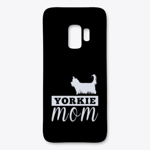 Yorkie Silhouette Mom Products Teespring
