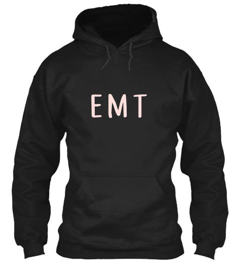 Awesome Emt Black T-Shirt Front