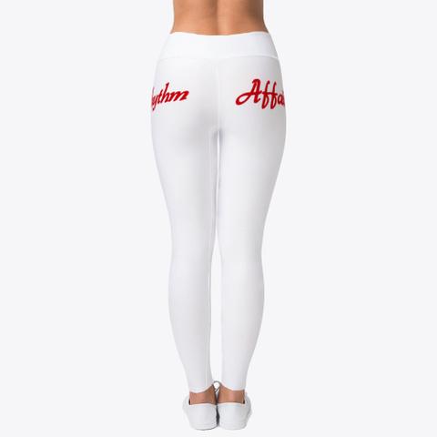 Ladies Yoga Pants Standard T-Shirt Back