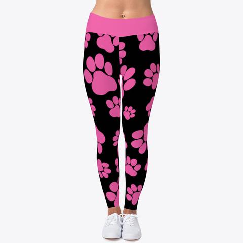 56c80286f742dd Pink Paw Print Leggings Products | Teespring
