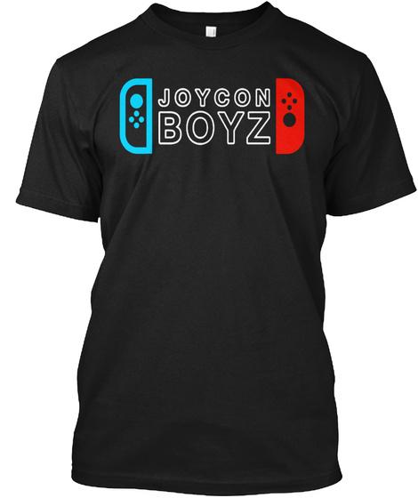 Joycon Boyz Black T-Shirt Front