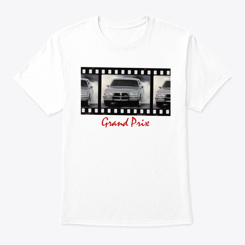 Burn Gp White Camiseta Front