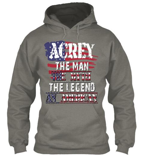 Acrey  Charcoal T-Shirt Front