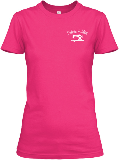 Sewing And Fabric Goddess Heliconia T-Shirt Front