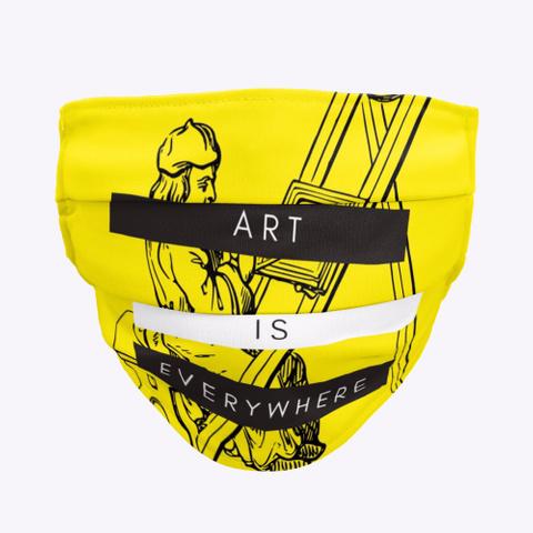 Art Is Everywhere Standard T-Shirt Front
