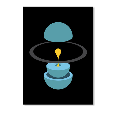 Layers Uranus V Sticker [Usa] #Sfsf Black Sticker Front