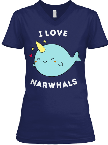 137ffc18 Cool I Love Narwhals T Men Women Products from Cute Narwhal T Shirts ...