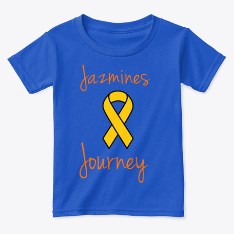 Jazmines Journey Royal  T-Shirt Front
