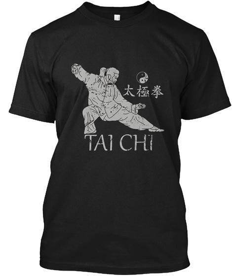 Tai Chi T Shirt Black T-Shirt Front