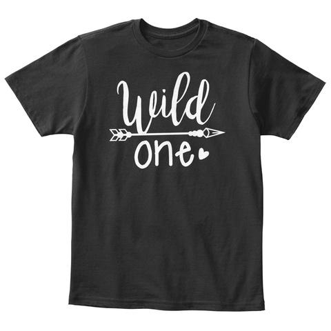 Wild One Matching Shirts  Black T-Shirt Front