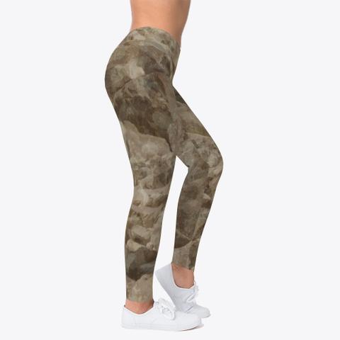 Desert Camo Leggings Standard T-Shirt Right