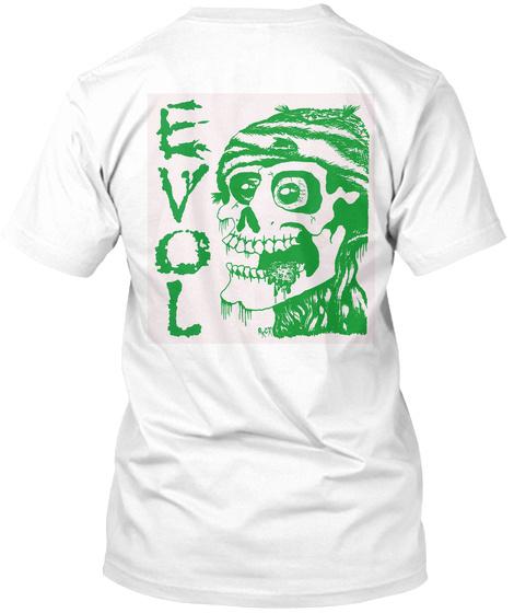Love White T-Shirt Back