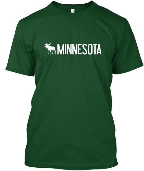 Minnesota Deep Forest T-Shirt Front