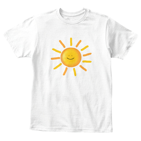 Ur My Sunshine Child White T-Shirt Front