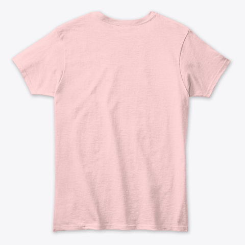 Cherry Art Light Pink T-Shirt Back