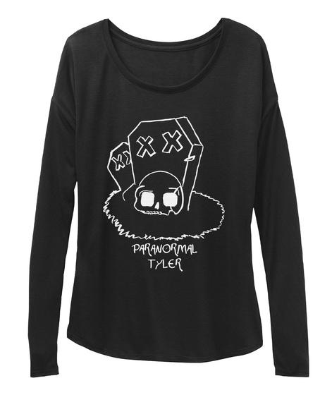 Paranormal Tyler Black Camiseta Front