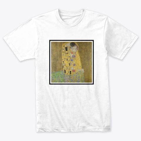 Art Movements, Symbolism Heather White T-Shirt Front