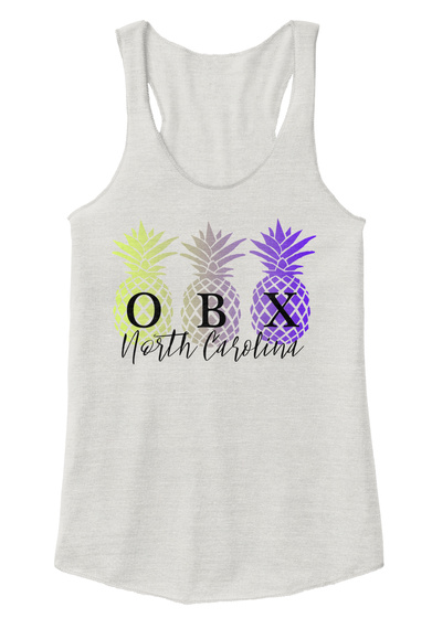 Outer Banks Pineapple Apparel Eco Ivory  T-Shirt Front