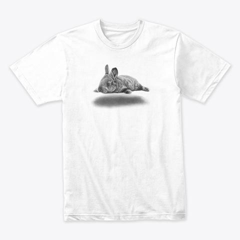 Hover Bunny White Camiseta Front