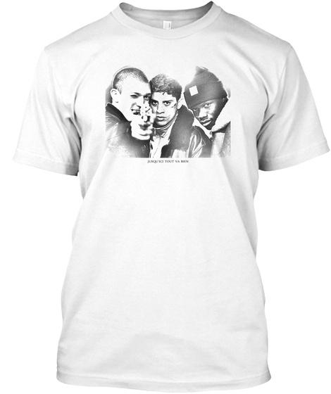 La Haine So Far So Good White T-Shirt Front