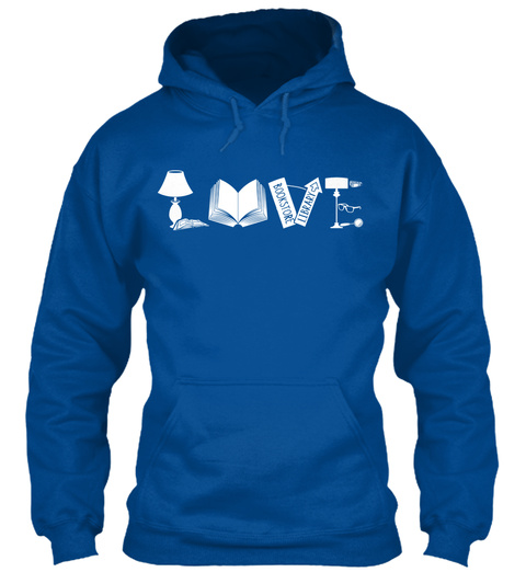 Love Royal Sweatshirt Front