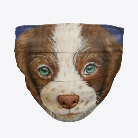 Dog Face Mask Standard T-Shirt Front
