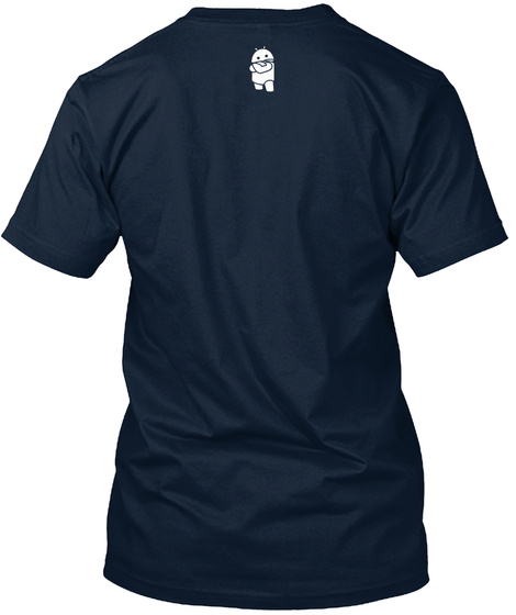 Na  New Navy T-Shirt Back